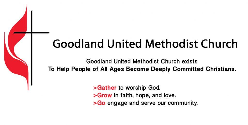 Goodland United Methodist Church Logo & Mission Statement